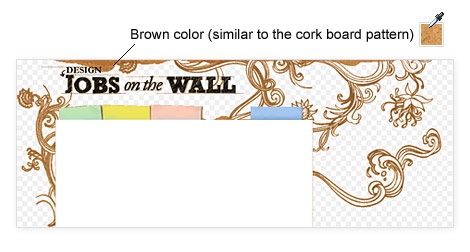 cork board overlay background