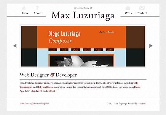 Max Luzuriaga site