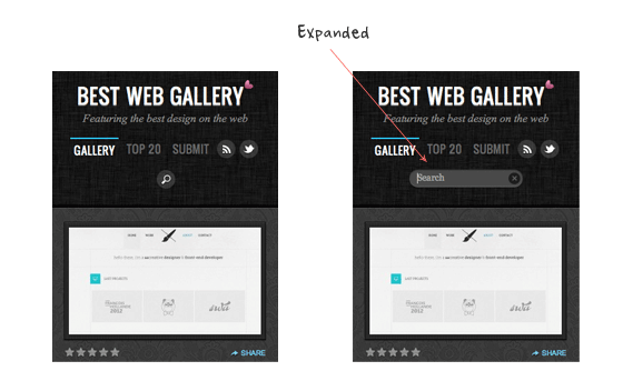 best web gallery search