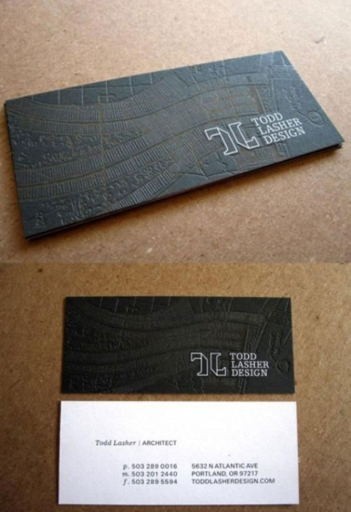 Have You Considered Embossed Business Cards What Other Techniques Used To Stand Out From The Crowd With Your