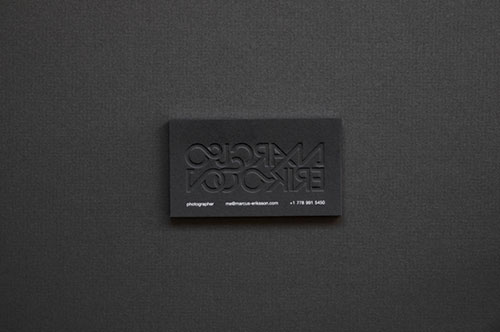 60 beautiful creative embossed business cards web designer wall have you considered embossed business cards what other techniques have you used to stand out from the crowd with your cards colourmoves