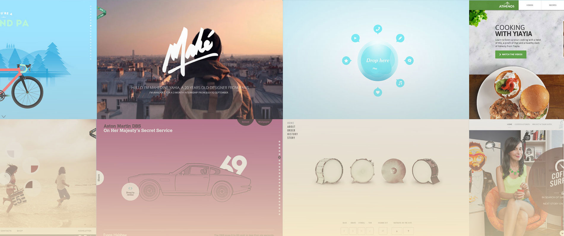 30 Great Interactive Sites Web Designer Wall Design