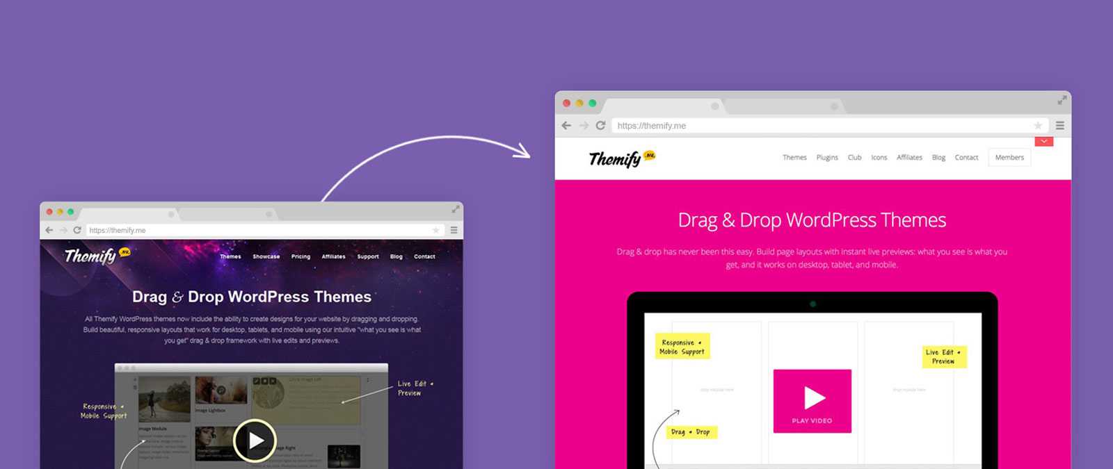 themify redesign
