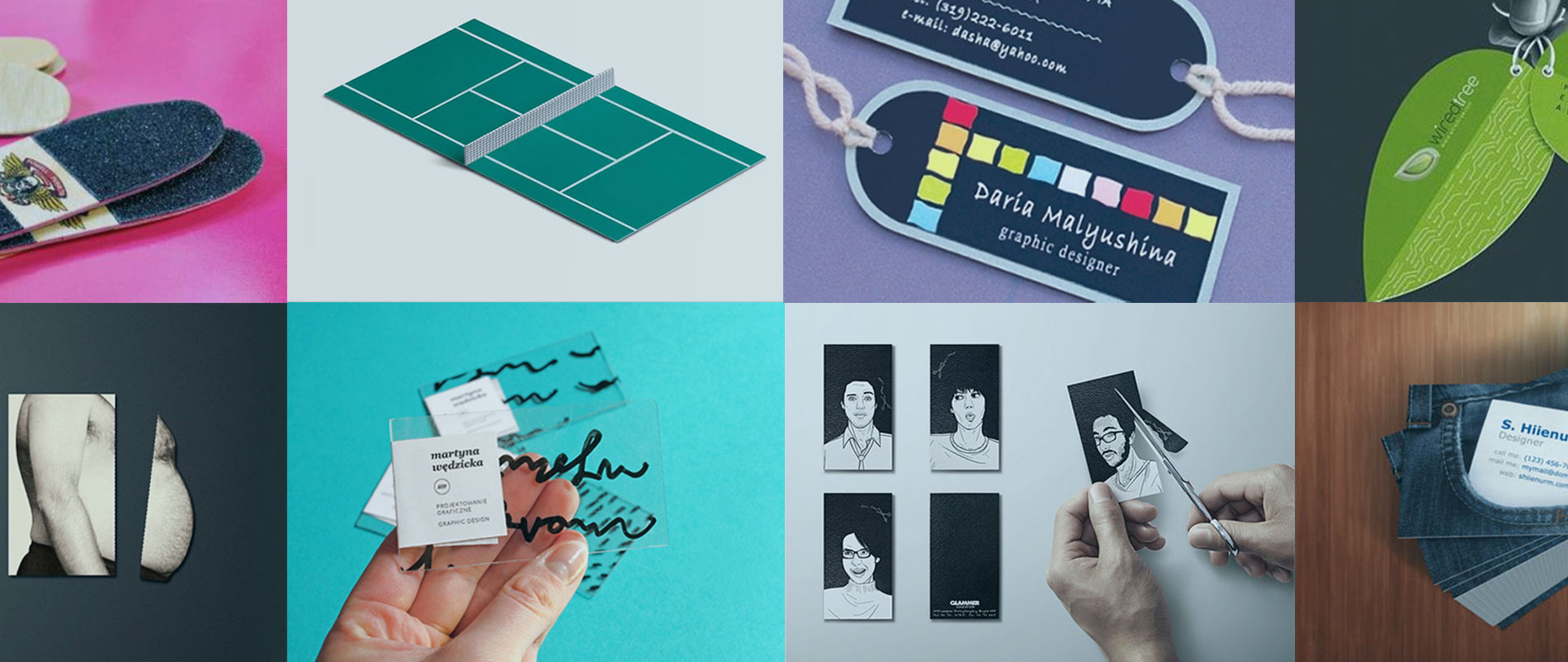50 business cards that are way too creative to ever throw away web business cards reheart