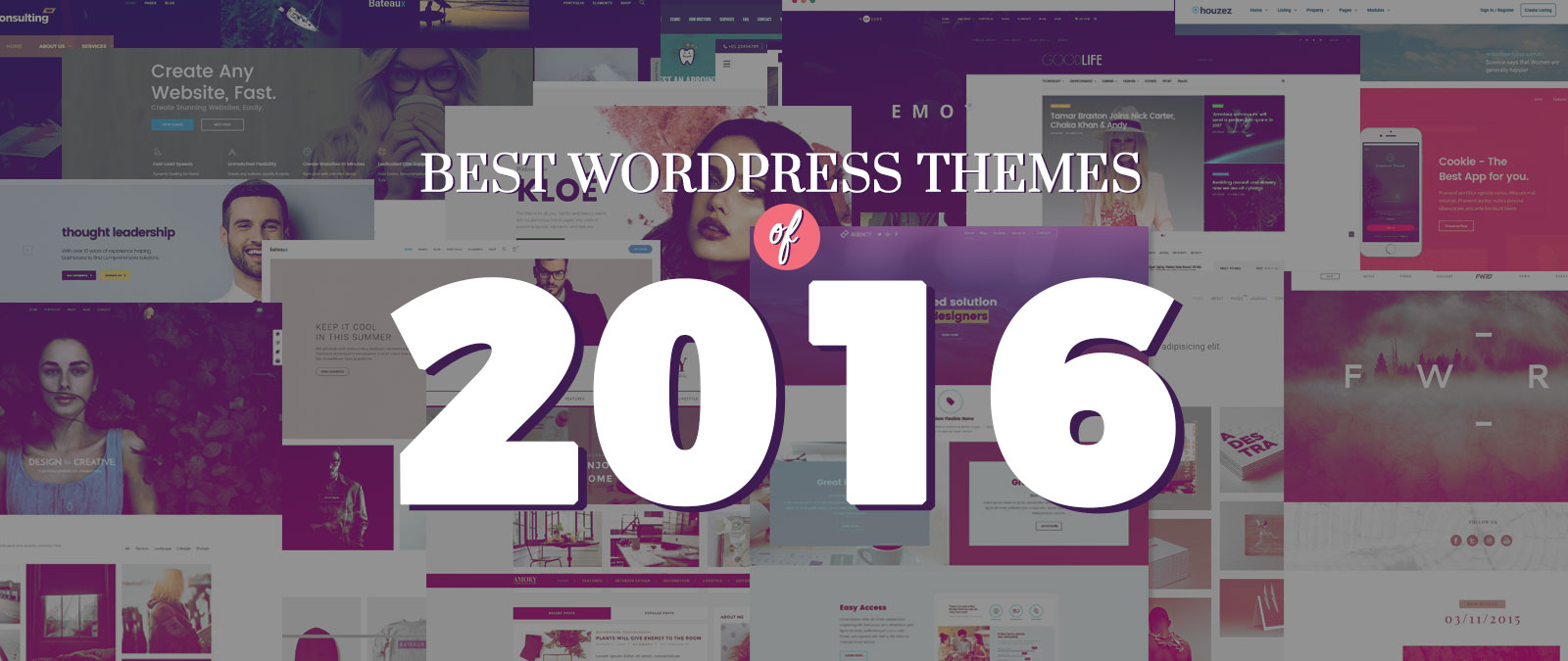 30 best wordpress themes of 2016 web designer wall design trends