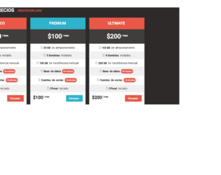 Bootstrap table Examples- Page 2 of 3 - Web Designer Wall