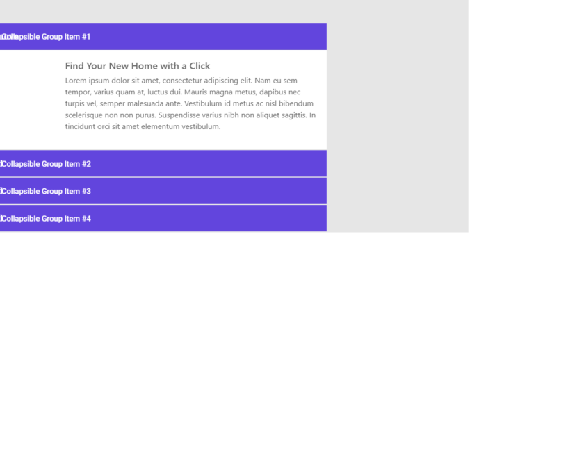 bootstrap accordion examples  web designer wall